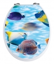 Wenko Wc Sitz tropic Fish